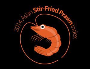 The 2014 Asian Stir-Fried Prawn Index