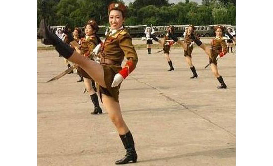 north korean girls. North Korean exports of
